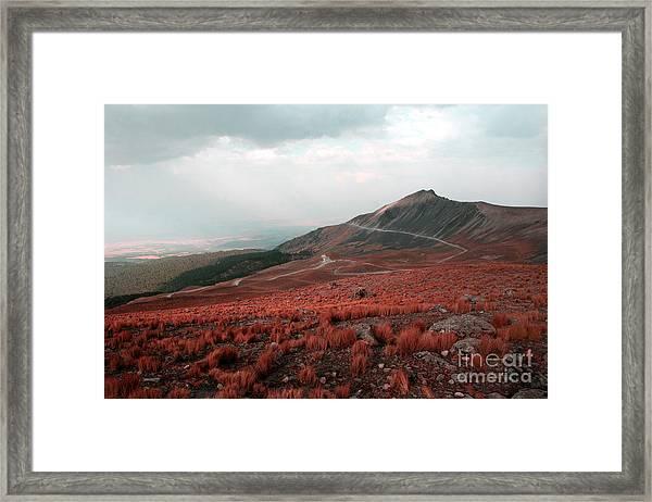 Nevado De Toluca Mexico II Framed Print