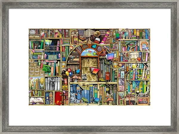 Neverending Stories Framed Print