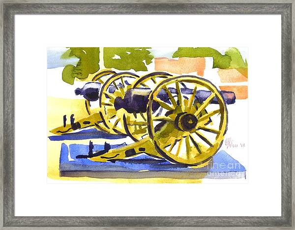 New Cannon Framed Print