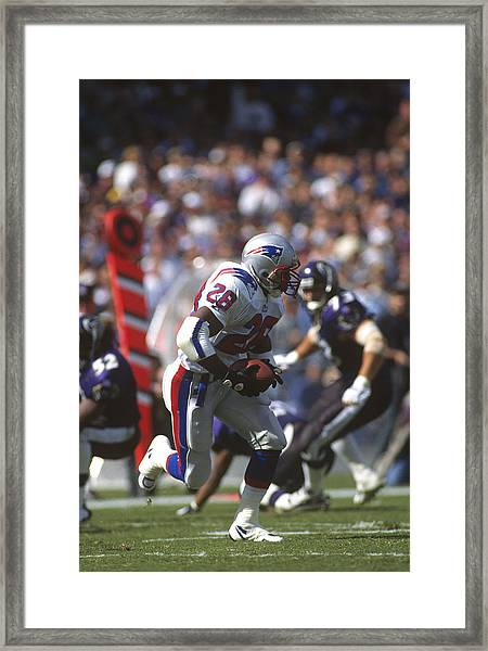 New England Patriots V Baltimore Ravens Framed Print by Focus On Sport