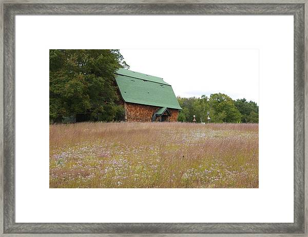New England Scene Framed Print