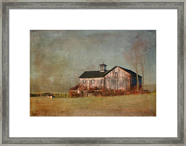 New Hampshire Barn  Framed Print