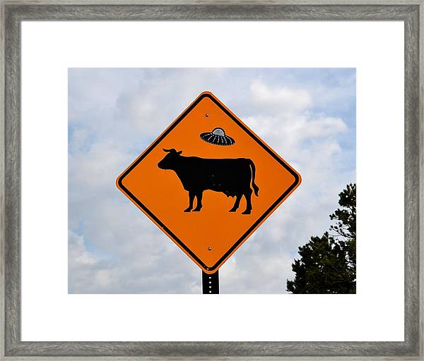 New Mexico Crossing Framed Print