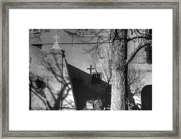 New Mexico Mission Framed Print