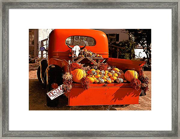 New Mexico Truck Framed Print