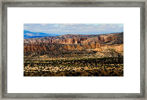 New Mexico View Framed Print