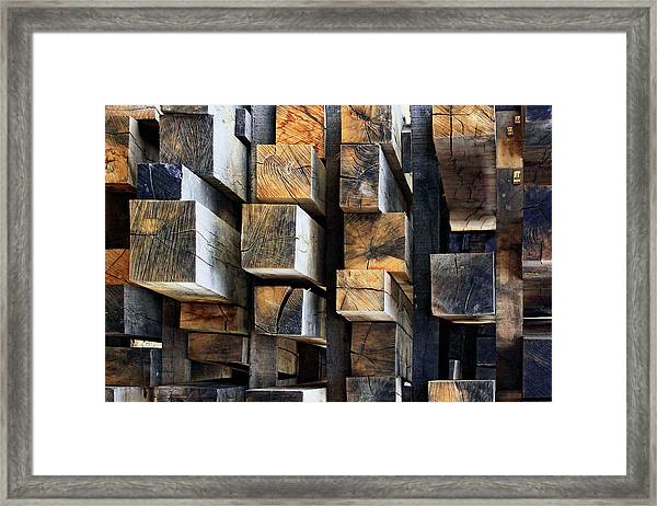 New Oak City Framed Print