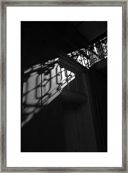 New Orleans Shadowplay Framed Print
