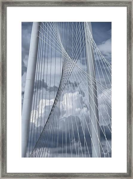New Skyline Bridge Framed Print