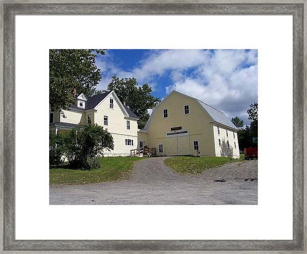 New Sweden Farm Framed Print