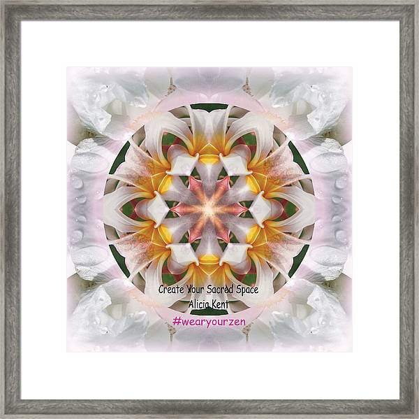 The Heart Knows Custom Framed Print