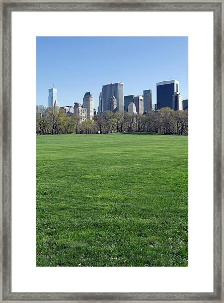 New York City Central Park Framed Print