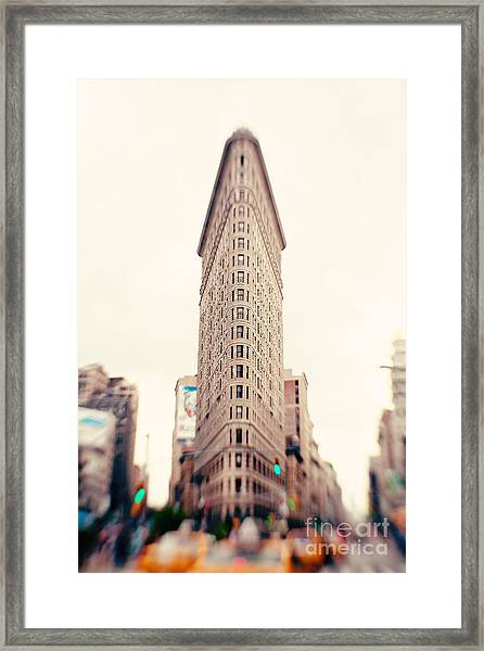 New York City Flatiron Building Framed Print