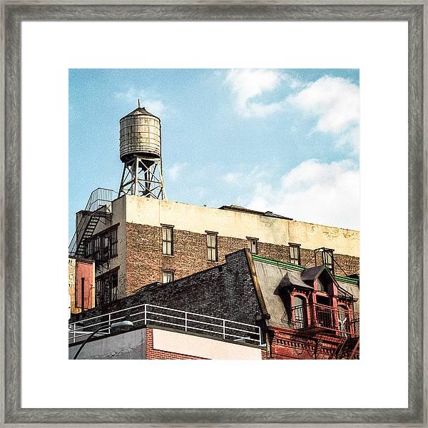 New York City Water Tower 2 Framed Print