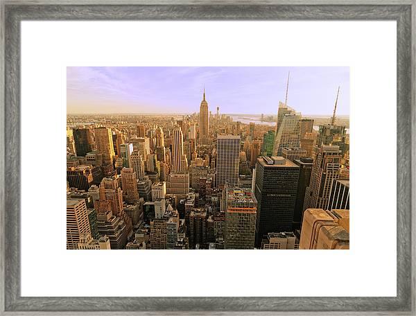 New York City Xxxl Framed Print