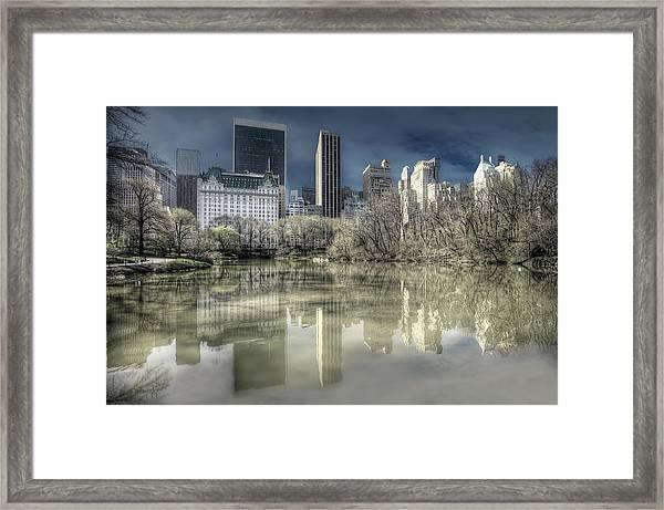 New York Manhattan Framed Print