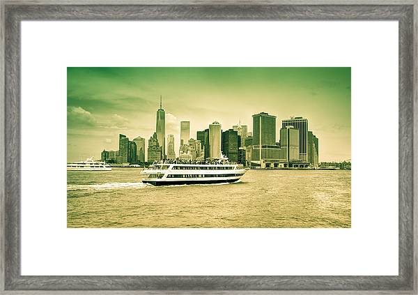 New York Metropolitan Framed Print