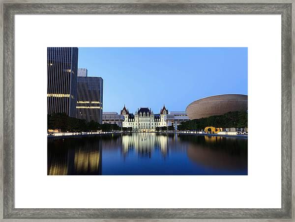 New York State Capitol Framed Print