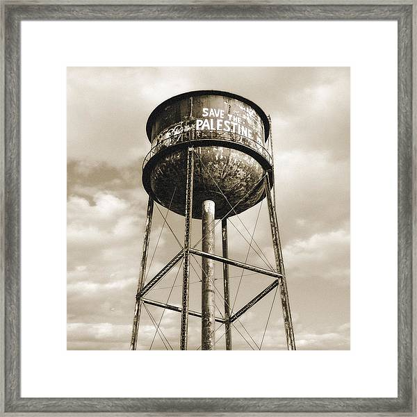 New York Water Towers 11 - Greenpoint Brooklyn Framed Print