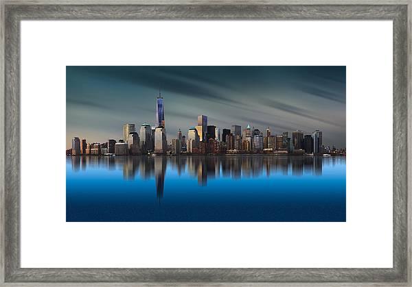 New York World Trade Center 1 Framed Print