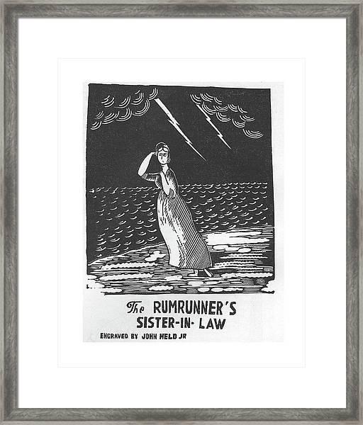 New Yorker April 11th, 1925 Framed Print