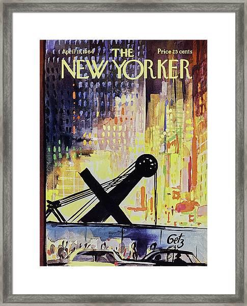 New Yorker April 11th 1964 Framed Print