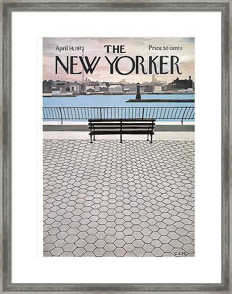 New Yorker April 14th, 1973 Framed Print