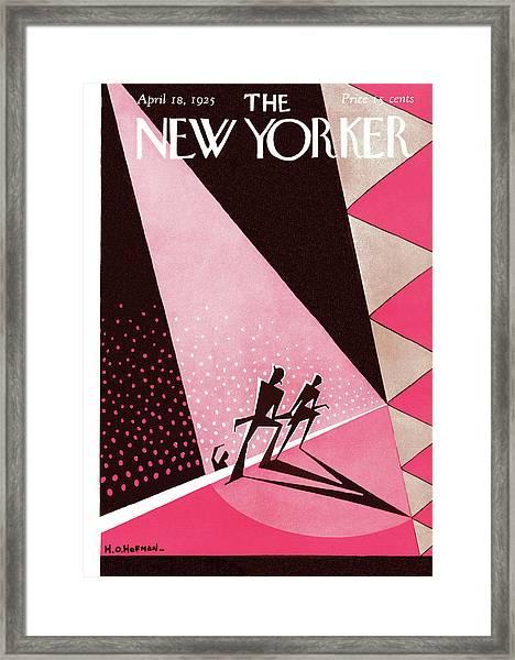 New Yorker April 18th, 1925 Framed Print