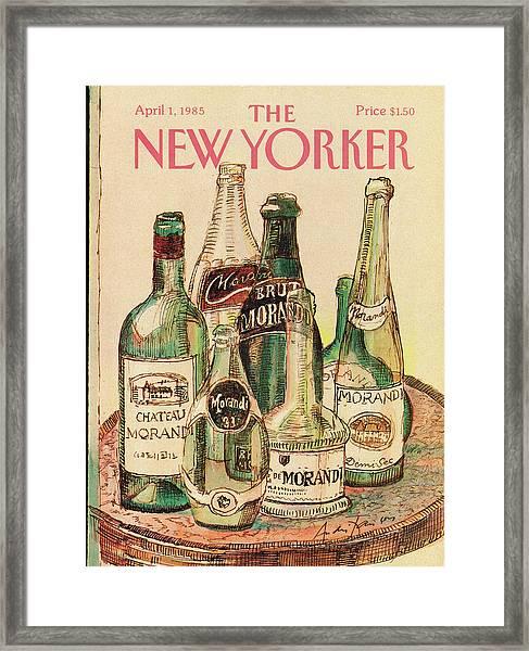 New Yorker April 1st, 1985 Framed Print