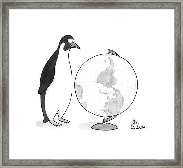 New Yorker April 20th, 1992 Framed Print
