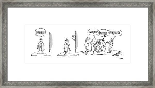 New Yorker April 21st, 1975 Framed Print
