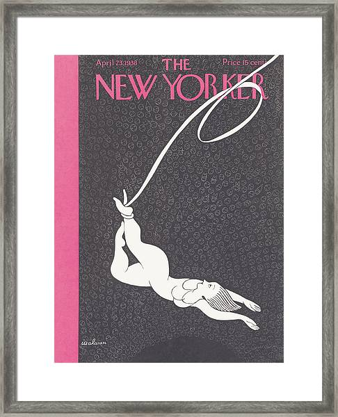 New Yorker April 23rd 1938 Framed Print