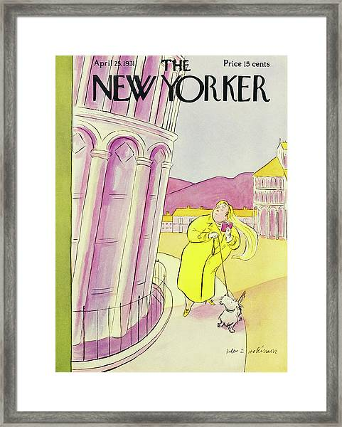 New Yorker April 25 1931 Framed Print