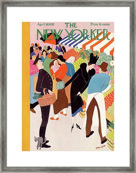 New Yorker April 30th, 1932 Framed Print