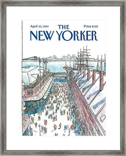New Yorker April 30th, 1984 Framed Print
