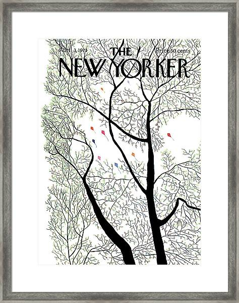 New Yorker April 3rd, 1971 Framed Print