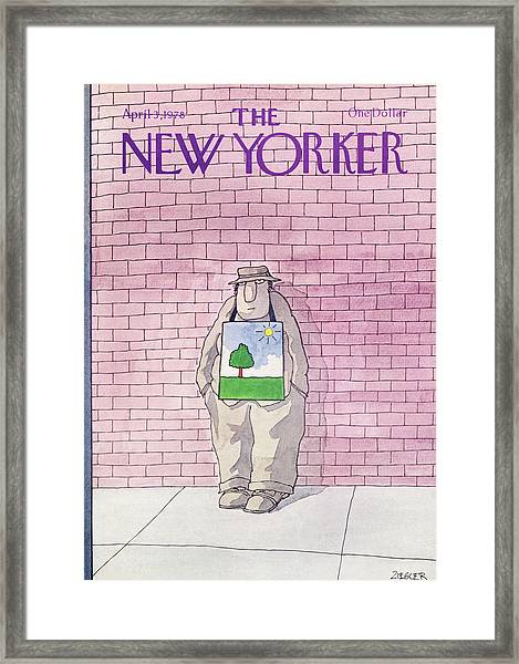 New Yorker April 3rd, 1978 Framed Print