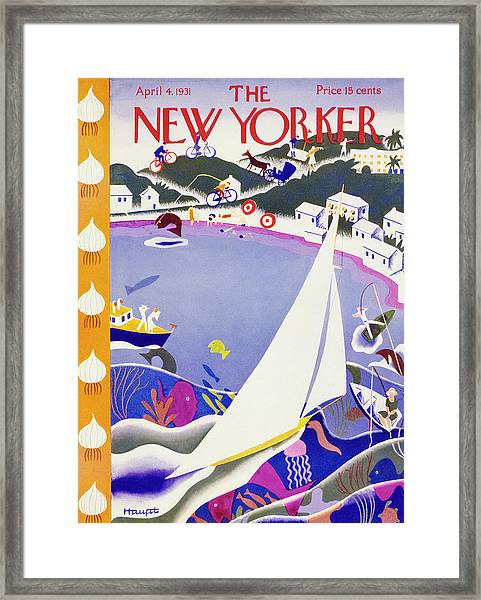 New Yorker April 4 1931 Framed Print