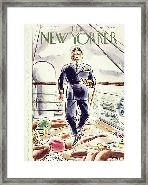 New Yorker April 9 1938 Framed Print