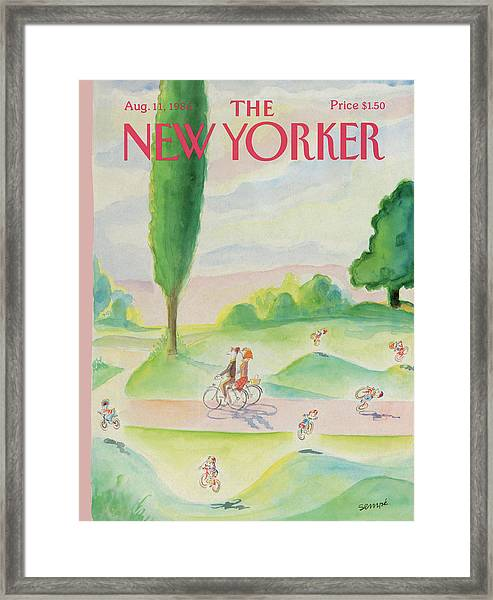 New Yorker August 11th, 1986 Framed Print