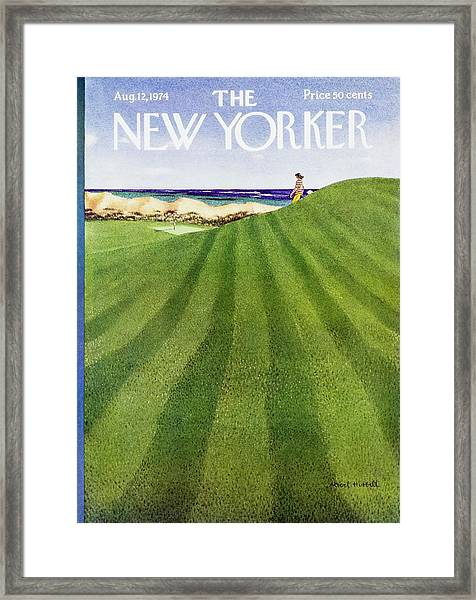 New Yorker August 12th 1974 Framed Print