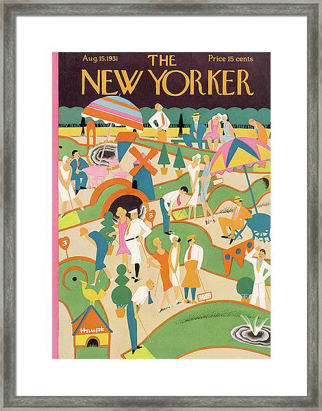 New Yorker August 15th, 1931 Framed Print