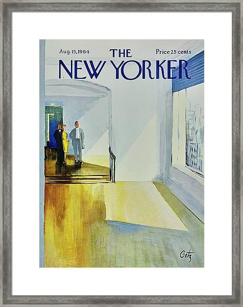 New Yorker August 15th 1964 Framed Print
