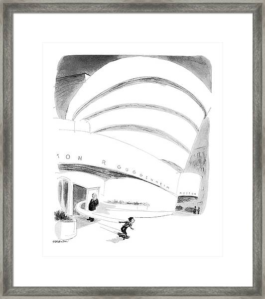 New Yorker August 16th, 1976 Framed Print