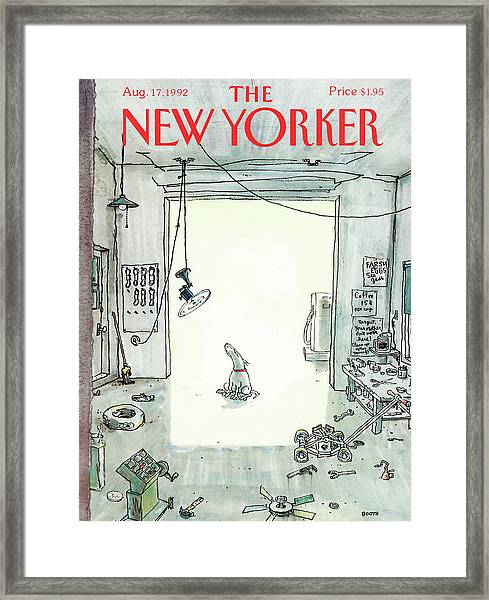 New Yorker August 17th, 1992 Framed Print