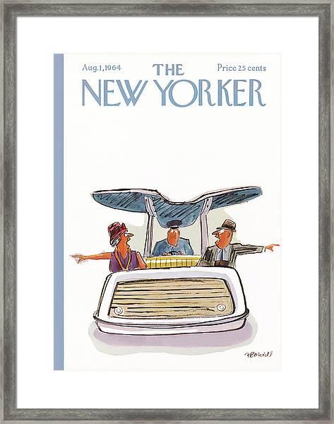 New Yorker August 1st, 1964 Framed Print