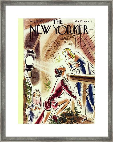 New Yorker August 20 1938 Framed Print