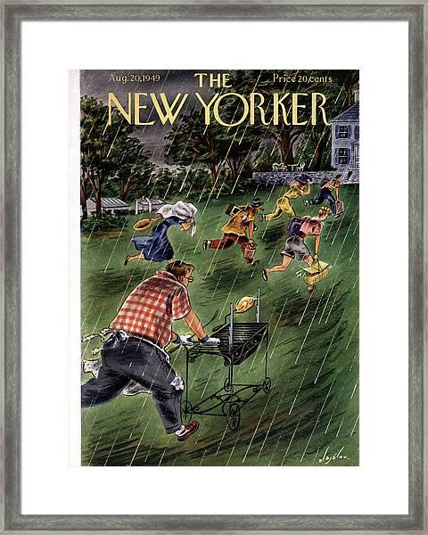 New Yorker August 20th, 1949 Framed Print