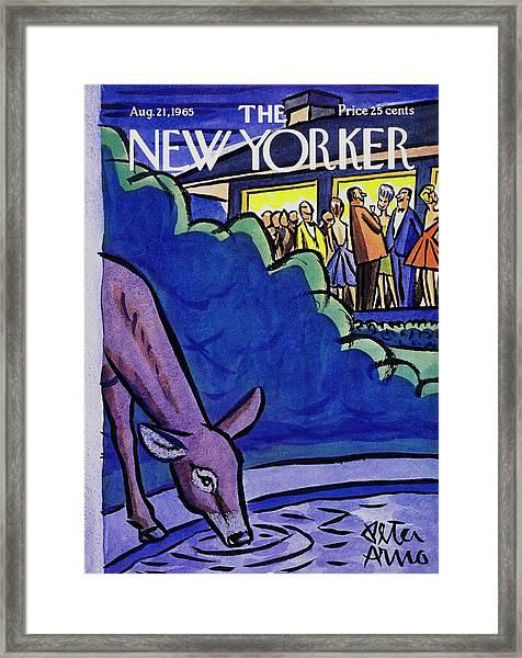 New Yorker August 21st 1965 Framed Print