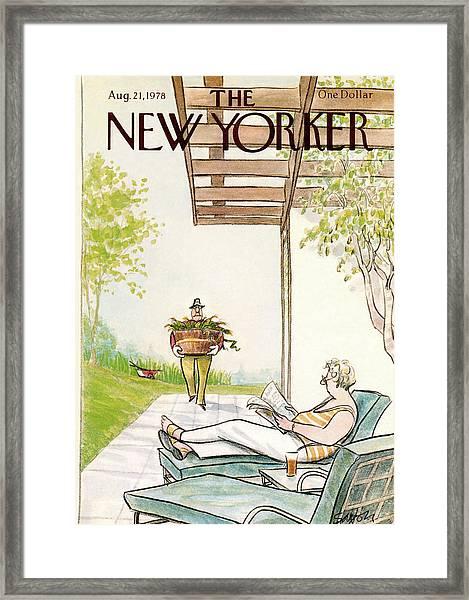 New Yorker August 21st, 1978 Framed Print